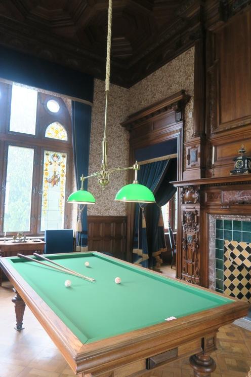 The Billiard Room featuring a billiard table.